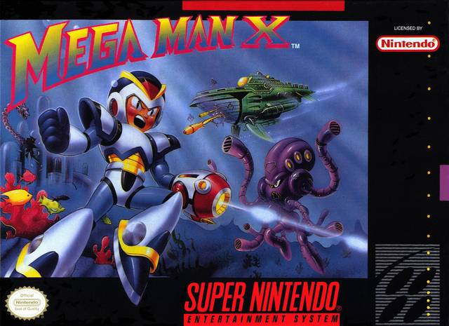 Mega Man Front Box art